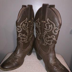 Rampage cowboy boots